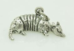 VTG Sterling Silver ARMADILLO Charm Southwest Jewelry #Unbranded #Traditional