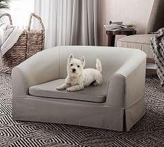 PB Basic Upholstered Pet Bed
