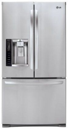 27.6 Cu. Ft. Stainless Steel #French #Door Refrigerator - Energy Star