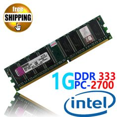 Brand New Sealed DDR1 DDR 333 / PC 2700 PC2700 1GB For Desktop PC DIMM Memory RAM DDR333 333MHz compatible with Intel processor♦️ B E S T Online Marketplace - SaleVenue ♦️👉🏿 http://www.salevenue.co.uk/products/brand-new-sealed-ddr1-ddr-333-pc-2700-pc2700-1gb-for-desktop-pc-dimm-memory-ram-ddr333-333mhz-compatible-with-intel-processor/ US $7.59