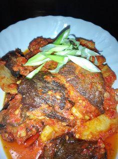 Dendeng Balado by Aulia Anisha ~ Kuliner Nusantara