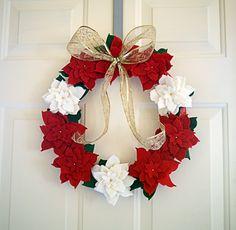 Christmas wreath idea