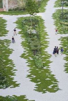 Urban Garden Design Gallery of The Garden / Eike Becker Architekten - 5 - Image 5 of 22 from gallery of The Garden / Eike Becker Architekten. Photograph by Jens Willebrand Landscape Architecture Design, Landscape Plans, Urban Landscape, Landscape Architects, Architecture Jobs, Classical Architecture, Ancient Architecture, Sustainable Architecture, Architecture Memorial