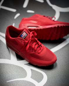 Nike Air Max 90 Hyperfuse USA Pack: Red
