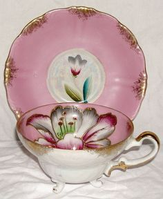 Vintage Royal Sealy Luster Cup and Saucer