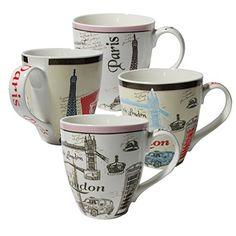 Set of Four (4) Assorted Paris London Design 16 oz Coffee Mugs IG13519 [A-to-Z Deals] A to Z Deals http://www.amazon.com/dp/B00R53MSHS/ref=cm_sw_r_pi_dp_RTWKwb0HQ8QYC