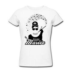 équipe de la mariée - mariée - evjf - tiffany - 1C Tee shirts - Tee shirt Femme…
