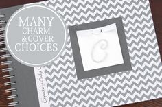 This gender neutral pregnancy journal makes a great gift! With 25+ covers & 30+ charms to choose from, you're sure to find a book to fit your style. Get yours from Charmbooks.