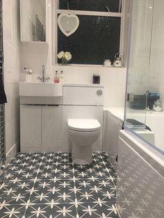 Best Tile for Small Bathroom Floor . Best Tile for Small Bathroom Floor . Definitely Copying these Tiles for Our Downstairs Bathroom Ada Bathroom, Small Bathroom Tiles, Bathroom Stall, Compact Bathroom, Bathroom Design Small, Bathroom Flooring, Bathroom Interior, Bathroom Ideas, Family Bathroom