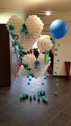 """Cute balloon design to say """"I love you. Heart Decorations, Balloon Decorations, Birthday Party Decorations, Wedding Decorations, Wedding Ideas, Hanging Balloons, Balloon Backdrop, Valentines Balloons, Wedding Balloons"""