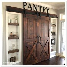 39 mind blowing kitchen pantry design ideas for your inspiration 3 – pinturest - Home diy - The Effective Pictures We Offer You About country farmhouse decor wall A Home Design, Küchen Design, Design Concepts, Kitchen Pantry Design, Rustic Kitchen, Kitchen Storage, Country Kitchen, Kitchen Pantries, Pantry Storage