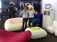 """FUGU boys at """"Now! Design à vivre"""" – Paris Maison et Objet"""