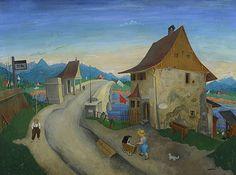 Rudolf Wacker, Bregenzer Achbrücke, 1926