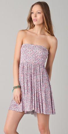 Rachel Pally Marley Strapless Dress