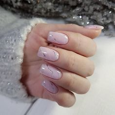 Cute nails Ideas of gentle nails Long nails Manicure 2018 Marble nails Nails trends 2018 Nude nails Pale pink nails Pale Pink Nails, Pink Manicure, Square Nail Designs, Short Nail Designs, Stylish Nails, Trendy Nails, Nail Polish Designs, Nail Art Designs, Nails Design
