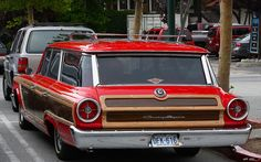1963 Ford Country Squire Wagon - My Dad had a woody wagon when we were young. Me and my sibilings hated that car.