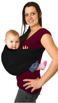 Maman Kangourou Aussie Pouch Baby Carrier Black XSmall *** Want to know more, click on the image. (This is an affiliate link and I receive a commission for the sales) #BabyCarrier