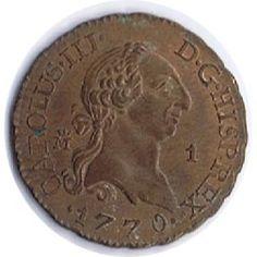 1 Maravedí 1770 Carlos III. Madrid. Cobre.