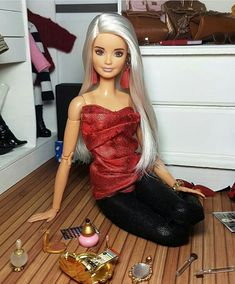 Barbie Life, Barbie World, Barbie And Ken, Beautiful Barbie Dolls, Vintage Barbie Dolls, Barbie Tumblr, Diy Barbie Clothes, Barbie Family, Barbie Model