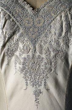 Lingerie - early 1920s, silk linen