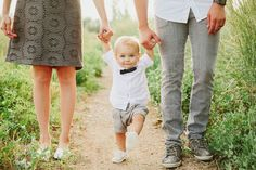 Babies in bow ties! Outfit ideas for family photos. Poses for family photos. One year old photos. Cute Family Photos, Family Picture Poses, Family Photo Sessions, Family Posing, Family Portraits, Family Photo Shoot Ideas, Baby Family Pictures, Baby Boy Photos, Young Family Photos