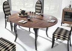 Modern - 9122 stół okrągły rozkładany 120-160