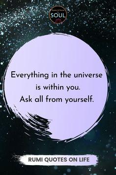 Best Rumi Quotes, Rumi Quotes Life, Path Quotes, Life Quotes Love, Soul Quotes, Wise Quotes, Spiritual Quotes, Happy Quotes, Inspirational Quotes