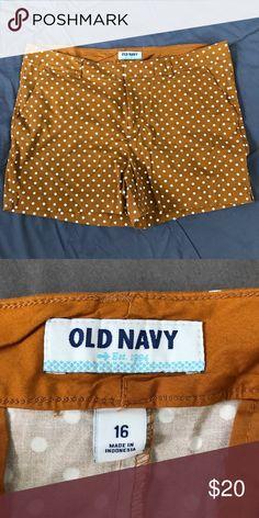 Polka Dot Shorts Old navy brown polkadot Shorts. All items from smoke free home. Old Navy Shorts