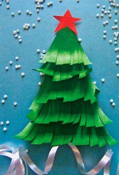 ёлочка своими руками Christmas Crafts For Kids To Make, Christmas Activities, Christmas Projects, Winter Christmas, Diy Crafts For Kids, Kids Christmas, Holiday Crafts, Art For Kids, Holiday Decor