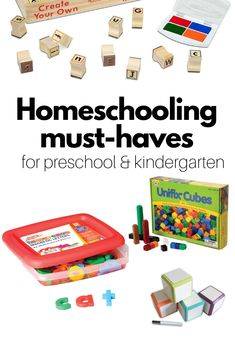 4 Must Have Homeschooling Materials - No Time For Flash Cards