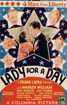 """Lady for a Day"" (1933). Director: Frank Capra."