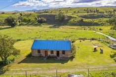 Originally built in 1865 by John & Agnes Crossan who came out of Scotland, the property was left disused until 2015 when the cottage was purchased with plans to. Property Listing, Property For Sale, Central Otago, New Zealand Houses, Auction, Cottage, Boat, Cabin, House Styles