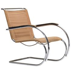 MR40 lounge chair by Ludwig Mies van der Rohe at 1stdibs