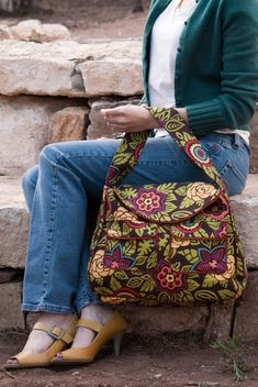 Sewing Pattern: Pocket Tote PDF download shoulder bag with