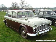 Grey and Red Humber Hawk estate - Car Image 10 of 135 in this set