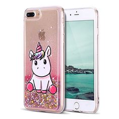 coque iphone 7 rose licorne