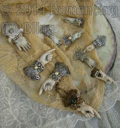 Victorian inspired by Debby Anderson © 2014 Romancing the Bling