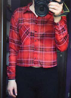 Kup mój przedmiot na #vintedpl http://www.vinted.pl/damska-odziez/koszule/8829155-koszula-czerwona-krata-mgielka