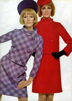 Vintage Fashion 1950s, 60s And 70s Fashion, 60 Fashion, Vintage Mode, Fashion Images, Fashion History, Retro Fashion, Trendy Fashion, Fashion Design