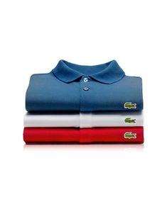 Lacoste Polo shirts should be in every man's closet.