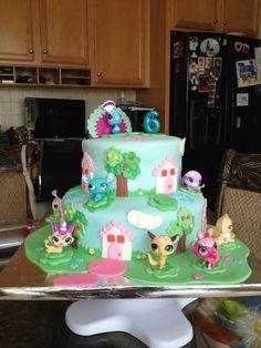 littlest pet shop cakes - Google Search