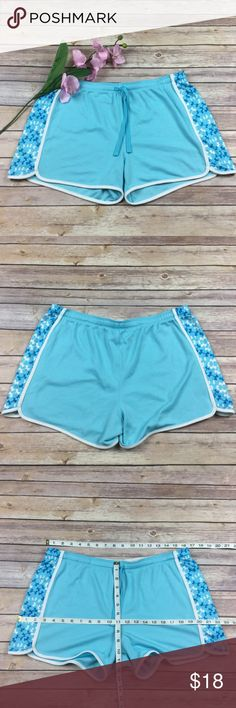 Under Armour light blue and white logo shorts Under Armour light blue and white logo shorts  Size: L (approx. measurements included in photos)  Condition: Preloved  Flaws: Some snags to material, a tag was cut inside  Check out my 2nd closet @teashopkids for all children's items!  Save $$ instantly when bundled with any other item!  #I11 Under Armour Shorts