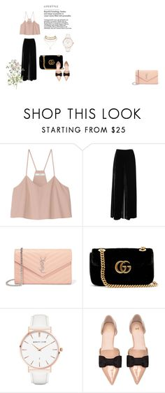 """""""Untitled #2"""" by nikus10030 on Polyvore featuring TIBI, M Missoni, Yves Saint Laurent, Gucci, Abbott Lyon and Charlotte Russe"""