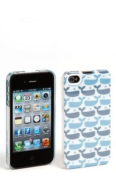 Grass Roots 'Aimée Wilder - Whale' iPhone 4 & 4S Case