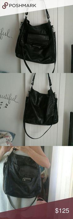 Calvin Klein over the shoulder or Cross body bag Like new on the outside pen marks inside Calvin Klein Bags Totes