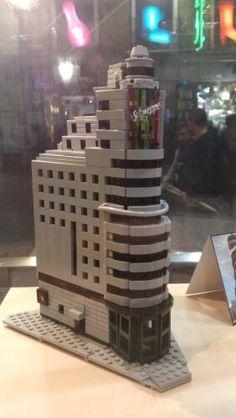 Edificio Capitol -Gran Vía - Madrid - Lego