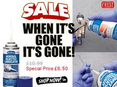 SALE! When It's Gone It's Gone. Eastwood Aerosol-Injected Lubricator System allows you to configure the application tips to your specific job. Shop Now Only £8.50.