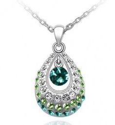Swarovski Crystal Pendant Necklace  $19.95