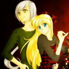 Mina and Yaten