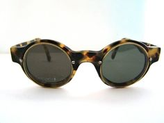 Steampunk Tortoiseshell  Sunglasses Round LENS by ifoundgallery, $95.00